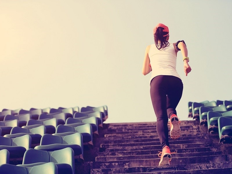 People who engage in physical activity are happier